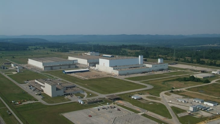 The American Centrifuge Plant site at Piketon (Image: Centrus)