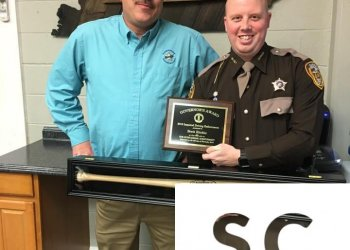 Greenup County Sheriff's Deputy Brett Ritchie has been honored by the Kentucky Transportation Cabinet with the Governor's Award for DUI Enforcement.