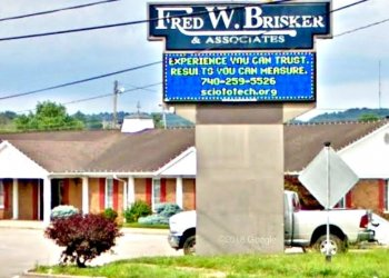 Fred Brisker's office in Portsmouth, Oh