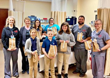 Notre Dame Students Treat First Responders
