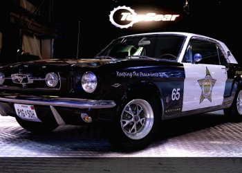 Police Car Ford Mustang.