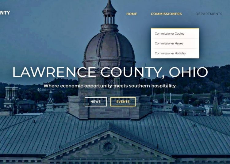 Lawrence County's new website