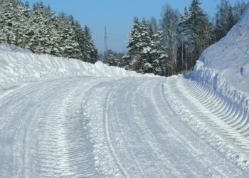 why streets plowed snowfall