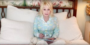 dolly in bed