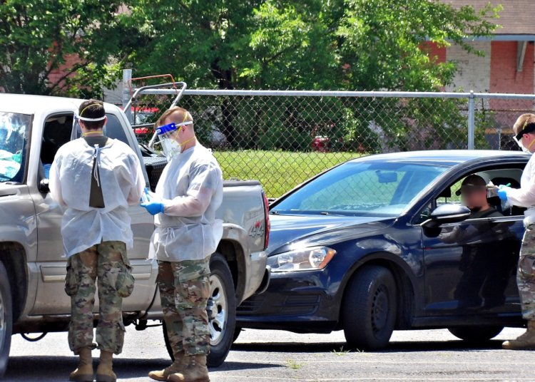 National Guard: COVID Testing in Portsmouth