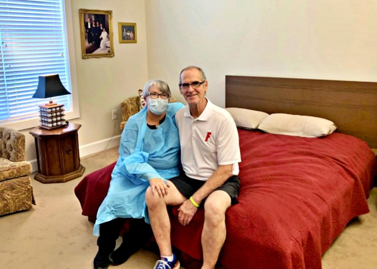 Wife Gets Job At Nursing Home To Visit Husband