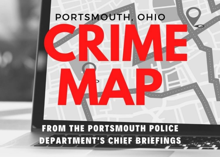 Portsmouth, Ohio Crime Map