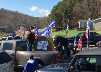 Trump Parade in Scioto County