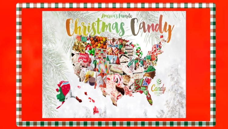 Top 3 Popular Christmas Candy Brands By State
