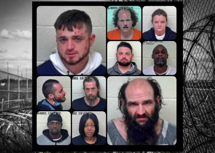 Busted! 10 New Arrests in Portsmouth, Ohio - 01/21/21 Scioto County Mugshots