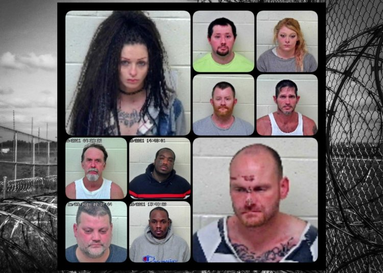 Busted! 10 New Arrests in Portsmouth, Ohio - 01/31/21 Scioto County Mugshots