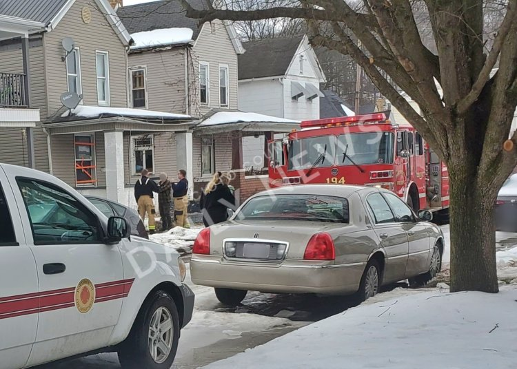 Portsmouth, Ohio House Fire Today
