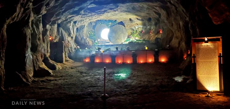 "Amazing ""Easter Cave"" at White Gravel Mines"