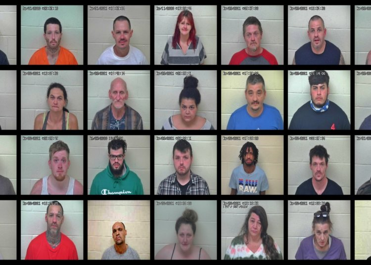 Busted! 45 New Arrests in Portsmouth, Ohio - 04/01/21 Scioto County Mugshots