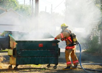 Double Dumpster Fires & Driving While Dumpster Diving
