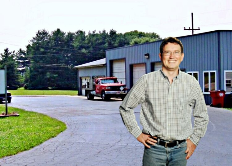 Congressman Thomas Massie Visited Arrick's Propane in South Portsmouth, Kentucky